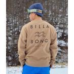 スウェット 【ムラサキスポーツ別注】BILLABONG/ビラボン 撥水加工 バックプリントスウェット BB012-027