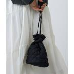 ショルダーバッグ バッグ キルティング巾着ショルダー
