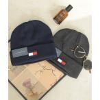 帽子 キャップ TOMMY HILFIGER ロゴニットキャップ / 1CT3013/1CT3220