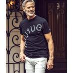 tシャツ Tシャツ 1PIU1UGUALE3 RELAX(ウノピゥウノウグァーレトレ)ラインストーンロゴ半袖Tシャツ
