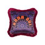 クッション クッションカバー ANNA SUI クッションカバー ロゴ 450×450 パープル