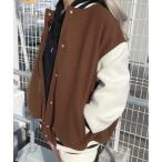 ジャケット ブルゾン WEGO/ラインリブスタジャン