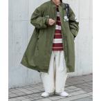 コート モッズコート 【1周年記念アイテム】オーバーサイズ Perushu M-65 モッズコート/キルティングライナーセット