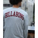 tシャツ Tシャツ 【直営店限定】BILLABONG メンズ  COLLEGE LOGO LS ロンT  【2021年秋冬モデル】/ビラボンバックプリ