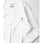 tシャツ Tシャツ 【Tommy Hilfiger】THERMAL SLEEP HENLEY サーマル ロングスリーブ ヘンリーネック 09T4076