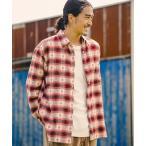 シャツ ブラウス 【MINNETONKA(ミネトンカ)×BAYFLOW】チェックシャツ
