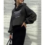 tシャツ Tシャツ 刺繍ロゴ裏毛ショートパーカー