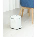 ゴミ箱 ダストボックス b.c.l/Galva スクエアダストボックス3L マットホワイト