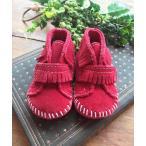 ブーツ 【MINNETONKA】 ミネトンカ FRONT STRAP BOOTIE/フロントストラップ ブーツ キッズ