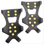 ICE GRIPPERS 靴の滑り止め アイススパイク10ピンタイプ BL-12(Mサイズ、Lサイズ )かんじき 簡易アイゼン