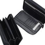 メンズ セカンドバッグ ミニ ダブルジップファスナー EARTH REPORTER アースリポーター 財布を一回り大きくした ER-104【期間限定!レビュー記入で送料無料!】
