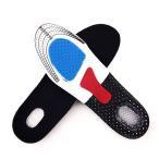 インソール 衝撃吸収 ジェルタイプ メンズ 靴用中敷き 通勤 通学 足の疲れ軽減 シリコン クッション 25.5〜28cm 代引き不可