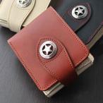 折り財布 高級牛革 二つ折り 短財布メンズ財布 IMPALA インパラ 400 ヌメ革使用 2WAYショートウォレット