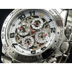 ジョンハリソン J.HARRISON 自動巻き 腕時計 メンズ ホワイト JH003-SW