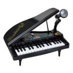 グランドピアノ おもちゃ 玩具 キッズ 子供 マイク付き キーボード ミニピアノ クリスマスプレゼント