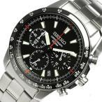 SEIKO セイコー SSB031P1 メンズ 腕時計 海外モデル クロノグラフブラック