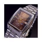 オリエント 自動巻き腕時計 レディース ブラウン文字盤  URL035NQ ORIENT
