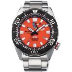 ORIENT 腕時計 オリエント M-FORCE エムフォース 200mスキューバ潜水用防水 REVIVAL オレンジ 海外正規 【型番:SEL0A003M0(国内型番:WV0201EL) 】【あすつく】