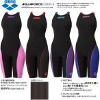 arena アリーナ  トレーニング 競泳用 水着 レディース ハーフスパッツオープンバック クロスバック ARN-7010WN ブラック   Fピンク   パープル S