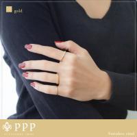 ステンレス リング(26)CZ 選択可 金色 銀色 ピンクゴールド  07号 09号 10号 11号 12号 13号 15号 16号 18号 19号 メイン 316L 指輪|0001pppcom|05