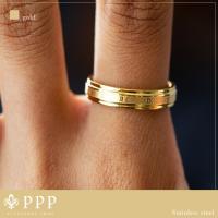 ステンレス リング(57) ローマ数字 選択可 銀色 金色 ピンクゴールド メイン メンズ レディース ナンバー シンプル|0001pppcom|06