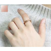 ステンレス リング(59) 3連の指輪 選択可 銀色 金色 ピンクゴールド メイン メンズ レディース 大人 おしゃれ シンプル|0001pppcom|17