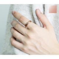 ステンレス リング(59) 3連の指輪 選択可 銀色 金色 ピンクゴールド メイン メンズ レディース 大人 おしゃれ シンプル|0001pppcom|18