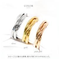 ステンレス リング(59) 3連の指輪 選択可 銀色 金色 ピンクゴールド メイン メンズ レディース 大人 おしゃれ シンプル|0001pppcom|03