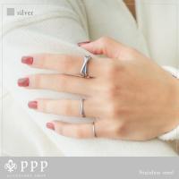 ステンレス リング(59) 3連の指輪 選択可 銀色 金色 ピンクゴールド メイン メンズ レディース 大人 おしゃれ シンプル|0001pppcom|04