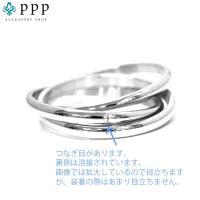 ステンレス リング(59) 3連の指輪 選択可 銀色 金色 ピンクゴールド メイン メンズ レディース 大人 おしゃれ シンプル|0001pppcom|10