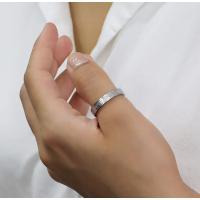 ステンレス リング(76)ざらつき加工 銀色 メイン  サージカルステンレス製 指輪 316L メンズ レディース シルバー 送料無料 アクセサリー|0001pppcom|06