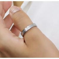 ステンレス リング(76)ざらつき加工 銀色 メイン  サージカルステンレス製 指輪 316L メンズ レディース シルバー 送料無料 アクセサリー|0001pppcom|08