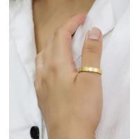 ステンレス リング(76)ざらつき加工 金色 メイン  サージカルステンレス製 指輪 316L メンズ レディース 送料無料 アクセサリー ゴールド|0001pppcom|09