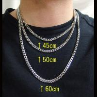 ステンレス 喜平チェーン5mm選択可45cm 50cm 60cm (メイン) シルバー925 銀 ステンレスネックレス 医療用サージカルステンレス316L|0001pppcom|05