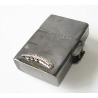 good vibrations(GV)ZIPPOライター メディスンホイール ターコイズ メイン シルバー925 銀 真鍮製 ブラス ネイティブターコイズ|0001pppcom|03