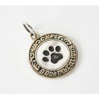 【GV】三日月とネコのコインペンダント(1)/(メイン)・猫・動物・三日月・ネックレス・ 0001pppcom 04