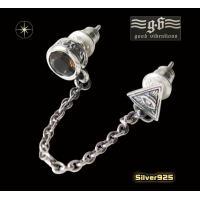 (GV)2ホールピアス(2) (メイン) プロビデンスの目(ホルスの目) フリーメイソン片耳用(1個売り)|0001pppcom
