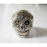 (GV)シュガースカルリング(3) メイン シルバー925 銀製スカル ドクロ 指輪|0001pppcom|02