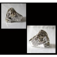 (GV)シュガースカルリング(3) メイン シルバー925 銀製スカル ドクロ 指輪|0001pppcom|03