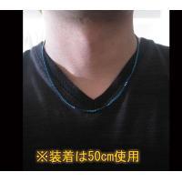 (ステンレス)ベネチアンチェーン青色2mm選択可45cm 50cm 60cm シルバー925製ネックレス メイン 0001pppcom 03