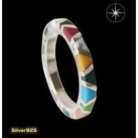 カラフルストーンリング(1)02号〜 (メイン)天然石 指輪 リング シルバー925製 銀|0001pppcom