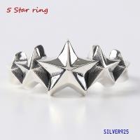スターリング(4)5号 6号 7号 8号 9号15〜 (メイン)スター 星 星 指輪 リング シルバー925製 銀|0001pppcom