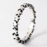 スターリング(7) メイン スター 星 指輪 リング シルバー925製 銀|0001pppcom|02