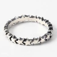 スターリング(7) メイン スター 星 指輪 リング シルバー925製 銀|0001pppcom|03