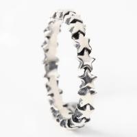 スターリング(7) メイン スター 星 指輪 リング シルバー925製 銀|0001pppcom|04
