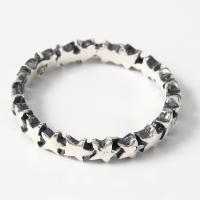 スターリング(7) メイン スター 星 指輪 リング シルバー925製 銀|0001pppcom|06