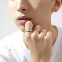 スターリング(7) メイン スター 星 指輪 リング シルバー925製 銀|0001pppcom|10