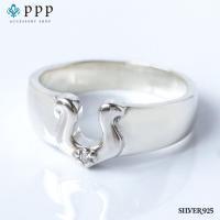 ホースシューリング(5)CZ 5号から25号 馬蹄 蹄鉄 指輪 リング シルバー925 銀 メンズ レディース|0001pppcom
