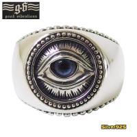 good vibrations(GV)プロビデンスの目の指輪(4)義眼 メイン フリーメイソン 義眼リング プロビデンスの目のリング|0001pppcom