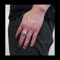 good vibrations(GV)プロビデンスの目の指輪(4)義眼 メイン フリーメイソン 義眼リング プロビデンスの目のリング|0001pppcom|06
